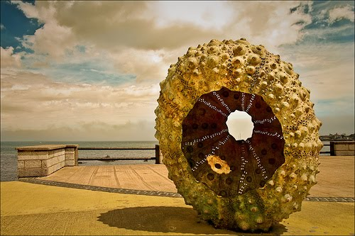 sea urchin sculpture