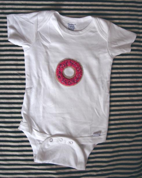 doughnut onesie