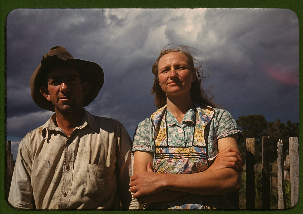 Faro & Doris Caudill, Pie Town, NM (1941)