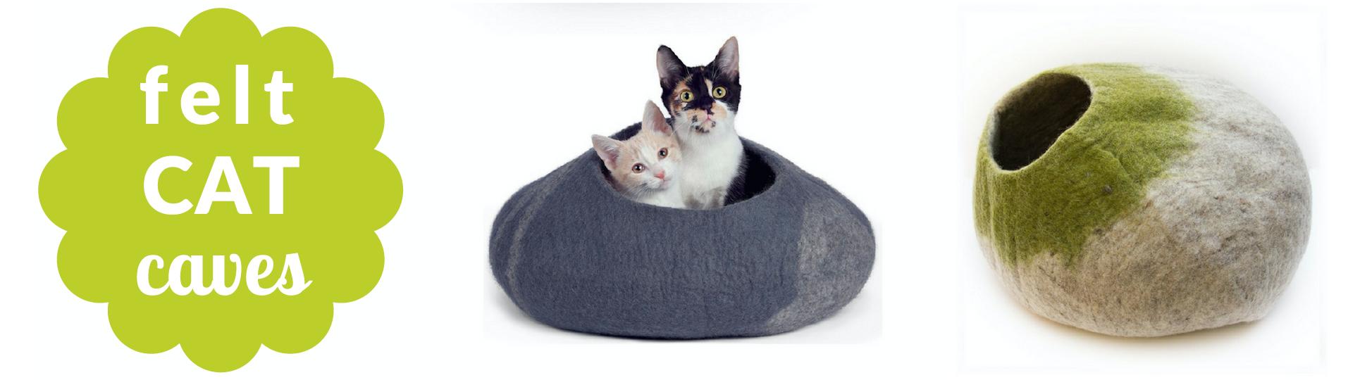 felt cat caves