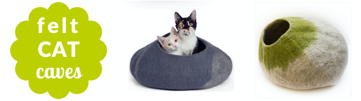 felt cat caves