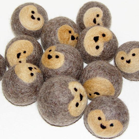 DIY hedgehog wool