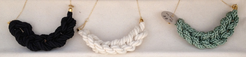 Rope necklaces by Homako