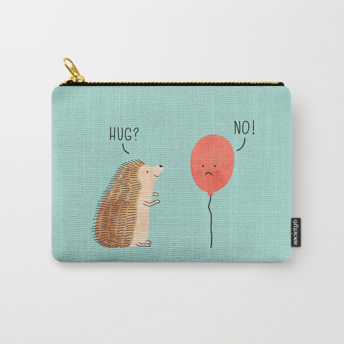 carry all zipper pouch from society6
