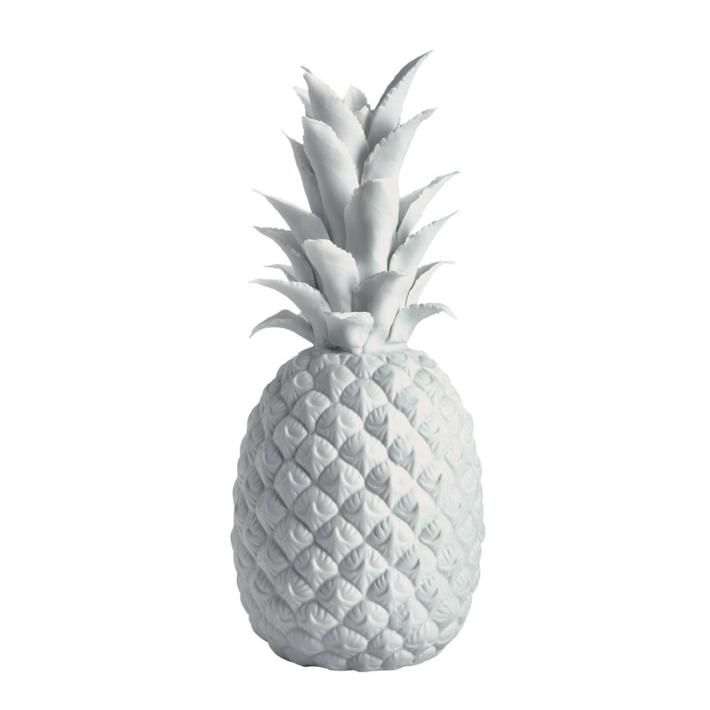 White Porcelain Pineapple sculpture