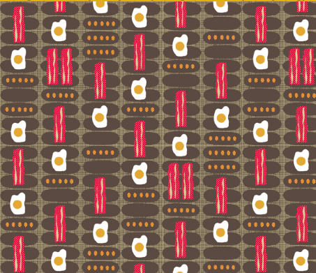 breakfast fabric
