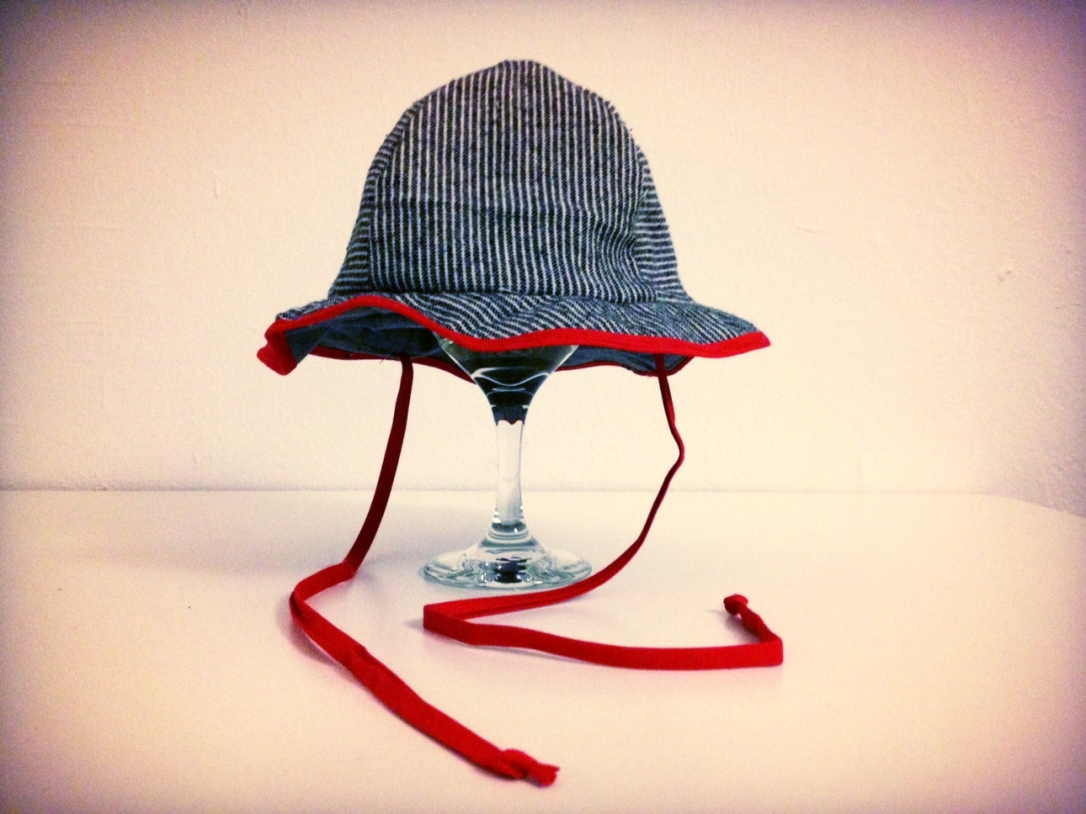DIY baby sun hat
