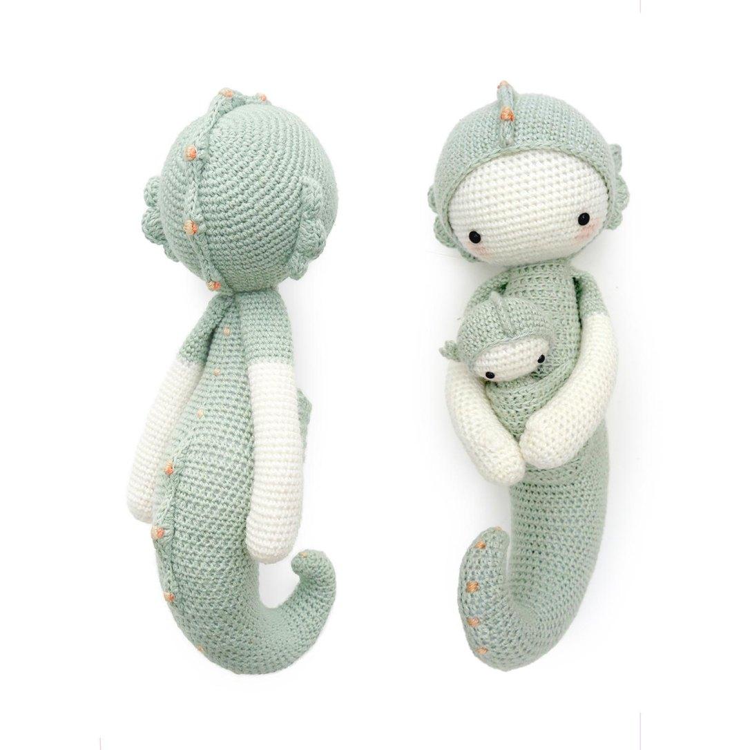 seahorse crochet pattern