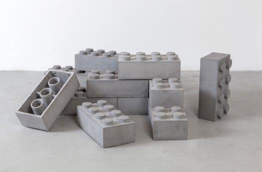 Superior DIY Concrete Coasters By Rebecca Beach Concrete LEGO Blocks By Andrew  Lewicki Amazing Pictures