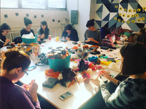 Brooklyn Craft Company Needle Felting Class