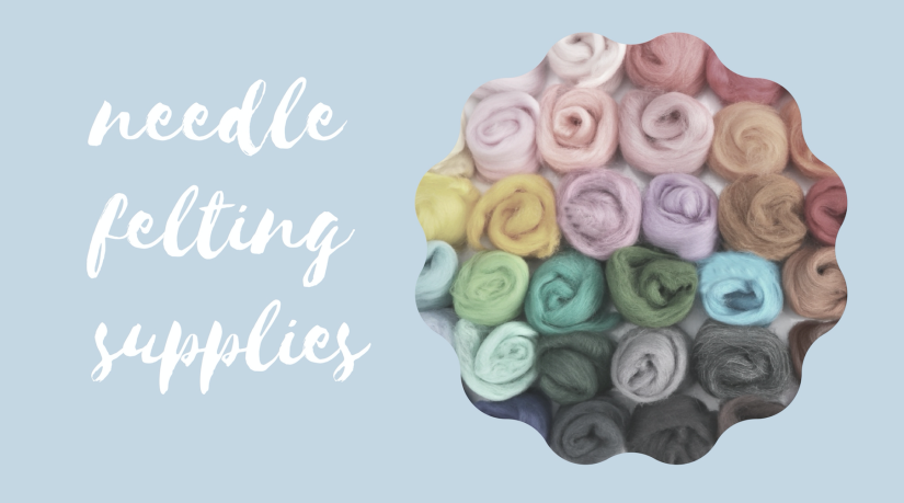 needle felting supplies