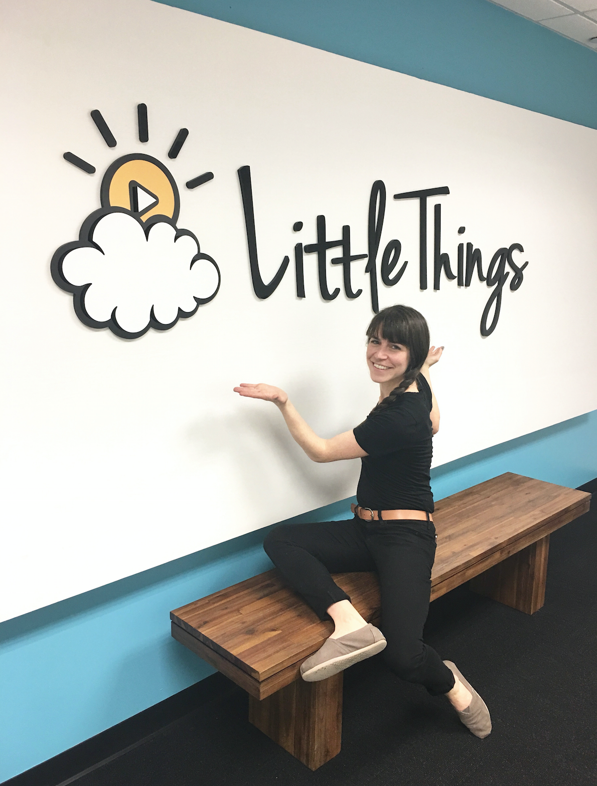 behind the scenes at Little Things studios