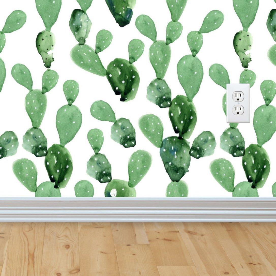 cactus removable wallpaper